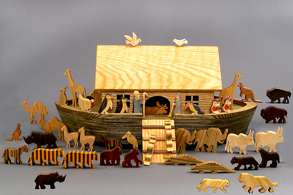 Woodworking noah s ark wooden toy PDF Free Download