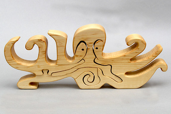 wooden sea life puzzle
